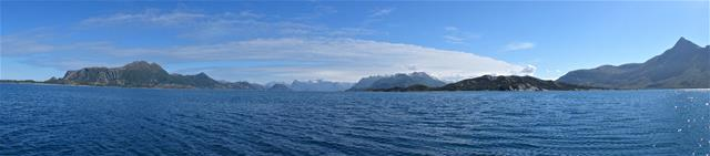 Prachtige vergezichten Tussen Selsoyvik en Ornes
