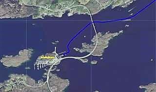 Lanternen marina op Jensholmen