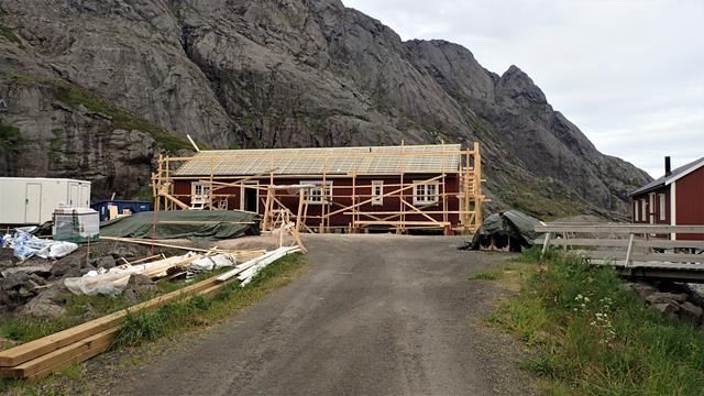 Rorbuer (vakantie en overnachtingshuisjes) worden nog steeds nieuw gebouwd