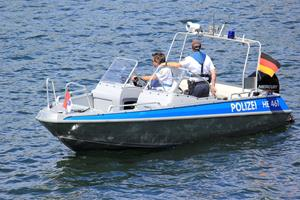 'Besuch der Wasserpolizei'